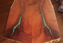 mesquite table / by Al Threlkeld