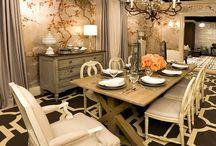 dinning room design / by Brian Hurff