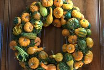 Natural Decor / Ideas for using items straight out of nature and your garden for seasonal decorations
