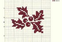 punto de cruz Navidad