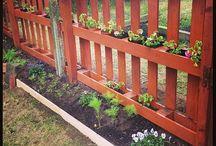 Palety w ogrodzie