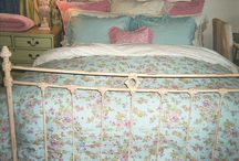 Master bedroom / French shabby chic meets Australian colonial. Romantic but not fussy.