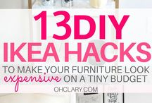 DIY Home Decor Ideas / DIY home decor ideas on a budget, these cheap and easy projects DIY decorations are creative and perfect for the bedroom, living room and kitchen. Get some ideas for rustic DIY home decor organizations. Interior design thoughts.