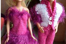 Barbie und Ken von Daggy / Kleidung für Barbie und Ken gestrickt und gehäkelt