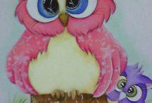 Clipart - Owls