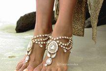 Se marier pieds nus / Barefoot sandals for beach wedding