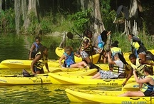 Camp Cherry Lake / Each summer, youth pack their bags to spend 4 days & 4 nights away from home at Camp Cherry Lake in Madison County, Florida. Youth learn kayaking, canoeing, archery, arts and crafts, marine science, environmental education, swimming and other valuable life skills.