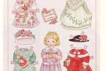 paper dolls / by Cindy Cook