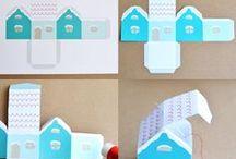 maisons papier