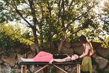 Reiki / Reiki is a gentle-touch, heart-centric energy work, wherein the practitioner helps channel and guide the Qi - the universal energy within all things - to clear blockages along the meridian lines, the chakras, and within the auric field, to help restore balance.   www.n-equilibrium.com/reiki