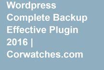Wordpress Complete Backup Effective Plugin 2016