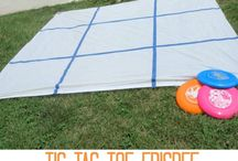 Outdoor Games to make!