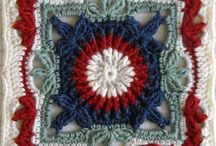 *CROCHET SQUARES / This is for anything from granny squares to motifs for Irish Crochet... / by Janet Marie