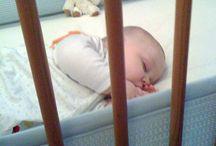 Bébé au dodo / Pour les douces nuits ou les siestes agréables de bébé.