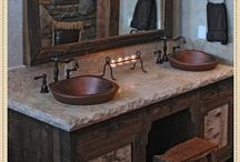 Rustic Bathrooms / by Hillary M Designs