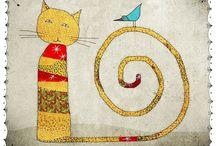 Cães, gatos e outros bichos... / by Ana Scalcon
