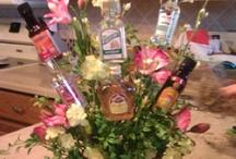 Bottle bouquet