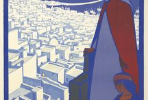 The Work of Roger Broders / Gorgeous Art Deco travel posters by the master himself!