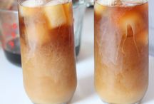 Cold Brewed Coffee.. Love love love. / Different ways to make your cold pressed coffee. And pretty pics yo match.