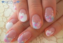 Nails - Negative / French