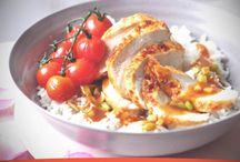 Receta de Filete de pollo en salsa de naranja y jengibre