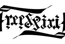 ART / Ambigram / words and texts that can be read upside down as well #ambigram #upsidedowntext