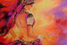 Art & Inspiration -2 / by Chamara Pansegrouw (Gypsy Purple)