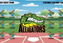 Softball banners / SOFTBALL BANNERS : Customize your own softball banner,little league softball banners to have your youth softball team names presented proudly for all to see.