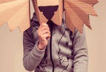 Karneval - papírové masky