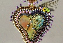 Bead embroidery / by Linda Fordyce