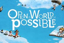 Open a World of Possible / Open a World of Possible is a new initiative designed to elevate the importance and joy of reading for all children. Learn more at www.scholastic.com/worldofpossible.  / by Scholastic