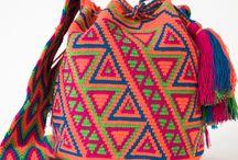 Mochilas Wayuu Bags / Вязание крючком/колумбийские мочилы