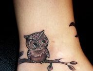 Owl tattoos for me / Looking to get another tattoo and would really like some ideas for owls