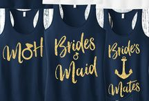 Blue Navy Bridesmaids