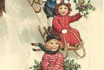 CHRISTMAS PAST #Christmas / Antique Christmas Decorations, Traditions, Recipes. I began collecting Antique Christmas items since I was in high school.  / by HOG🐖 HealthyOrganicGreen
