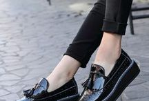 Flat wedges loafer