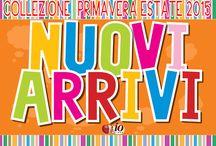 Collezione Primavera-Estate 2015 Expo Store / Esposizioni stores Io Bimbo Sardegna.