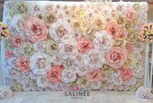 Papierové kvet