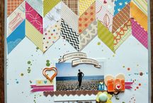 scrapbook page ideas / by Lacey Coles