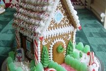 Ginger bread house.