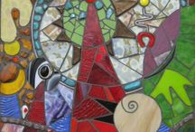 Mosaics and Funky Art / by Rachel McAllister
