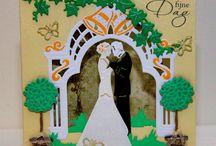 Huwelijk / Marriage cards