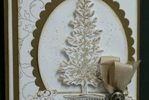 Stampin up Lovely as tree / Examples from the stampset As lovely as a tree from Stampset