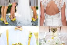 yellow / wedding flowers