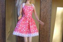 barbie oblečení