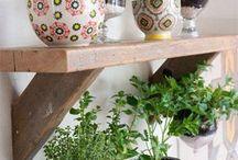 Hortinha na cozinha