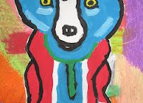 Becky -Blue Dog / by Gloria Dubberly
