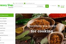 Grocery Store Script / Advanced Grocery  Shop  one of the most advanced and feature-rich themes . It was designed around the feedback received from thousands of customers so it can easily handle anything you throw its way. Without Technical knowldge  you can quickly create something that truly represents your unique business idea  and the nature of your business