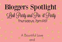 Bloggers Spotlight LINK PARTY / Collection of all the best post from Bloggers Spotlight Linky Party. Link up with www.abountifullove.com  every Thursdays, 7pm PST through Tuesdays 11pm PST. From DIY's, yummy recipes to inspiring post. Pls. pin 3-5 times ONLY A DAY. Don't SPAM or we will delete you. To join this board,follow A Bountiful Love or  Raising Fairies and Knight and if we fail to send an invite...send us a message! Feel free to invite others too!