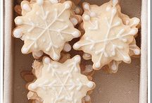 Christmas biscuits and cakes